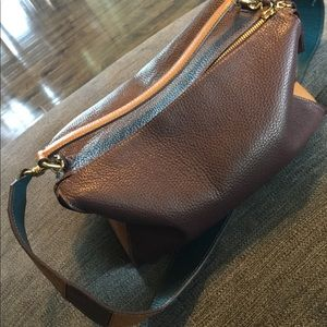 Iacucci brown leather purse
